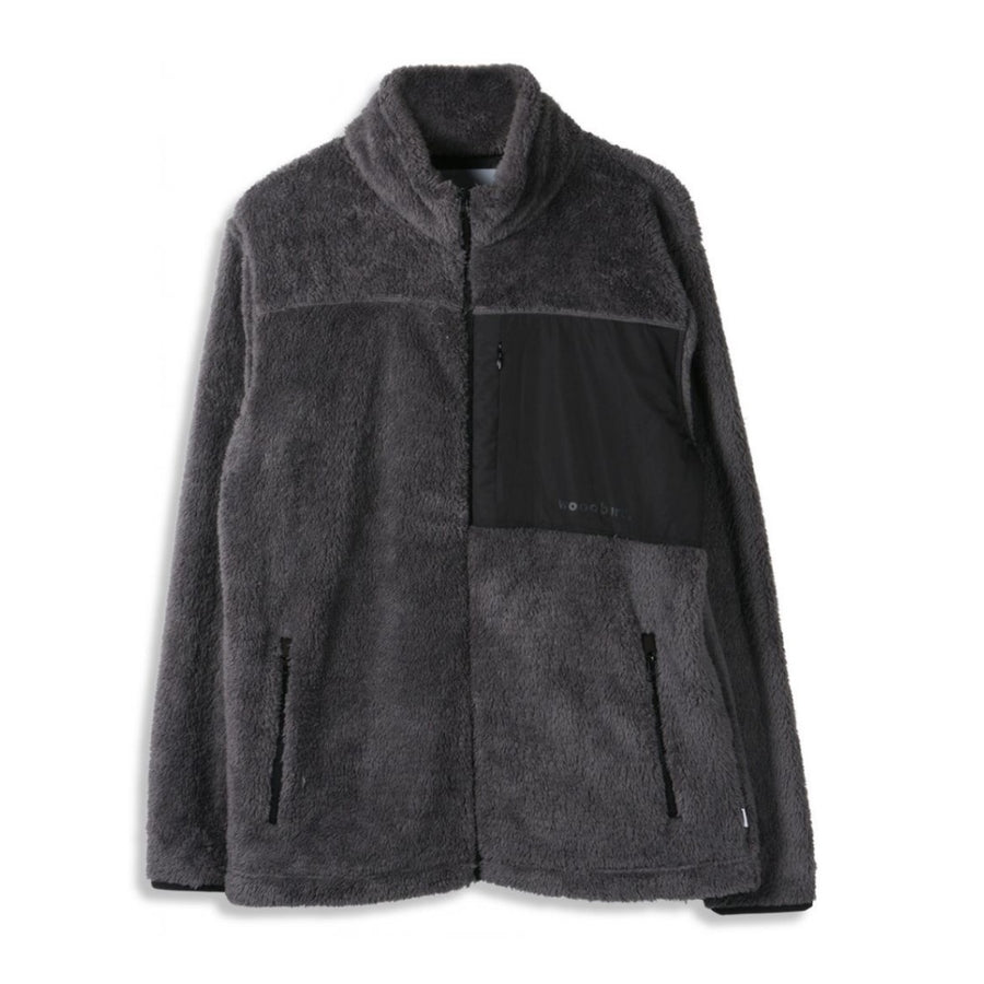 Woodbird - Shaq fleece jacket - Herre fleece jakke - Knokleriet