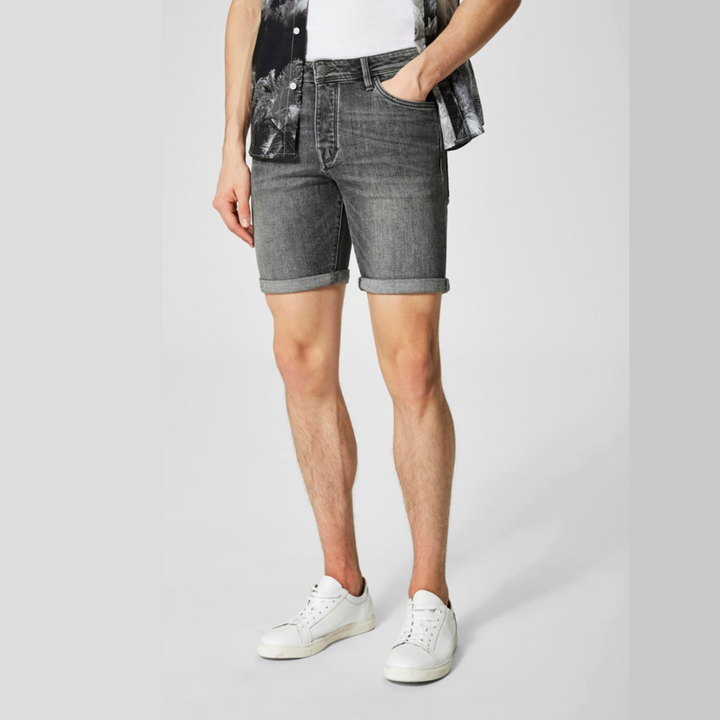 Alex 309 LT Grey DNM Shorts W Noos - Herre Shorts - Grey - Knokleriet