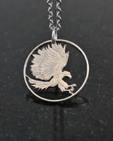 Philippines - Eagle Cut Coin Pendant