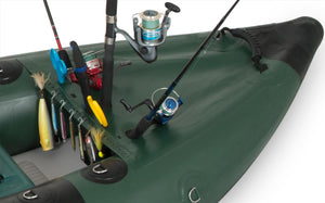 Explorer Inflatable Fishing Kayaks 350FXK_PSB Pro Solo