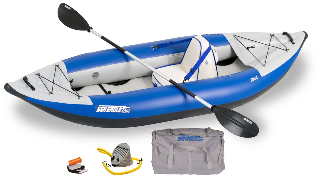 Explorer Inflatable Kayak 300XK_D (Deluxe)