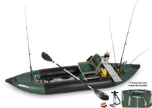 inflatable fishing kayak with all accessories