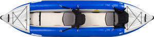tandem inflatable kayak top view