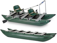 FoldCat 375FCK_P™ Inflatable Pontoon Boat for fishing (Pro Angler Guide)