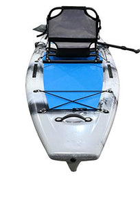 fishing SUP with seat and rod holders