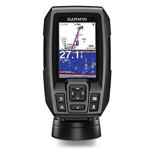 "Garmin Striker 4 with Transducer, 3.5"" GPS Fishfinder"