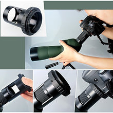 Spotting Scope Waterproof Birdwatching Monocular 20-60X60
