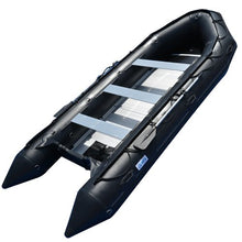 Inflatable Boat For Sale black with metal floor.