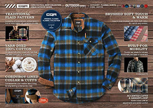 CQR Men's Flannel Shirt