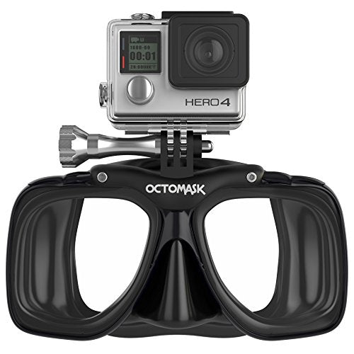 OCTOMASK - Compatible with Gopro - Dive Mask for Scuba Diving and Snorkeling