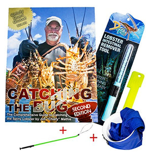 Dixie Divers Deluxe Lobster Season Kit - Catching The Bug 2nd ED, Lobster Inn, Green Snare, Intestinal Remover Gauge
