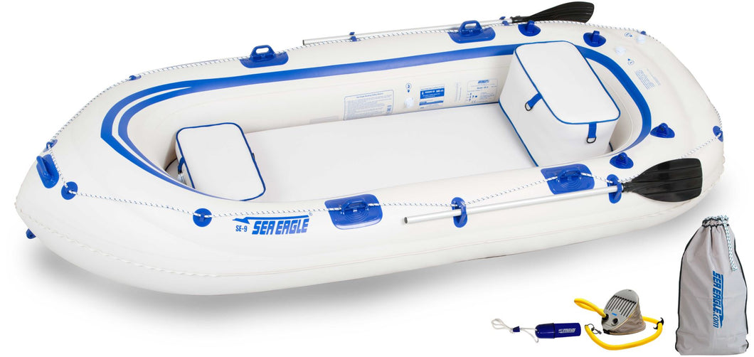 Sea Eagle Inflatable Raft SE9K_ST Startup