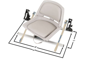 Gray Swivel Seat Fishing Rig