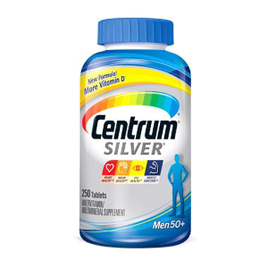 Centrum Silver Men's 50 Plus Multi 250 Tablets