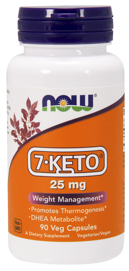 Now Foods 7-Keto 25mg 90 Caps
