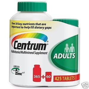 Centrum Multivitamin for Adults 425 Tablets