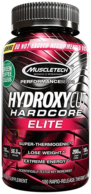MuscleTech Hydroxycut Hardcore 100ct