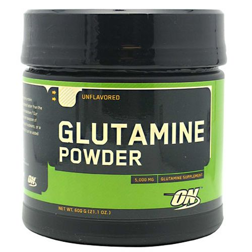 Optimum Nutrition Glutamine Powder 600 Grams