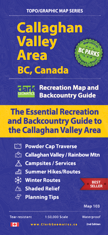 Callaghan Valley Map