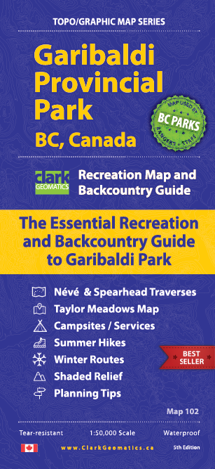 Garibaldi Park SW Section Map