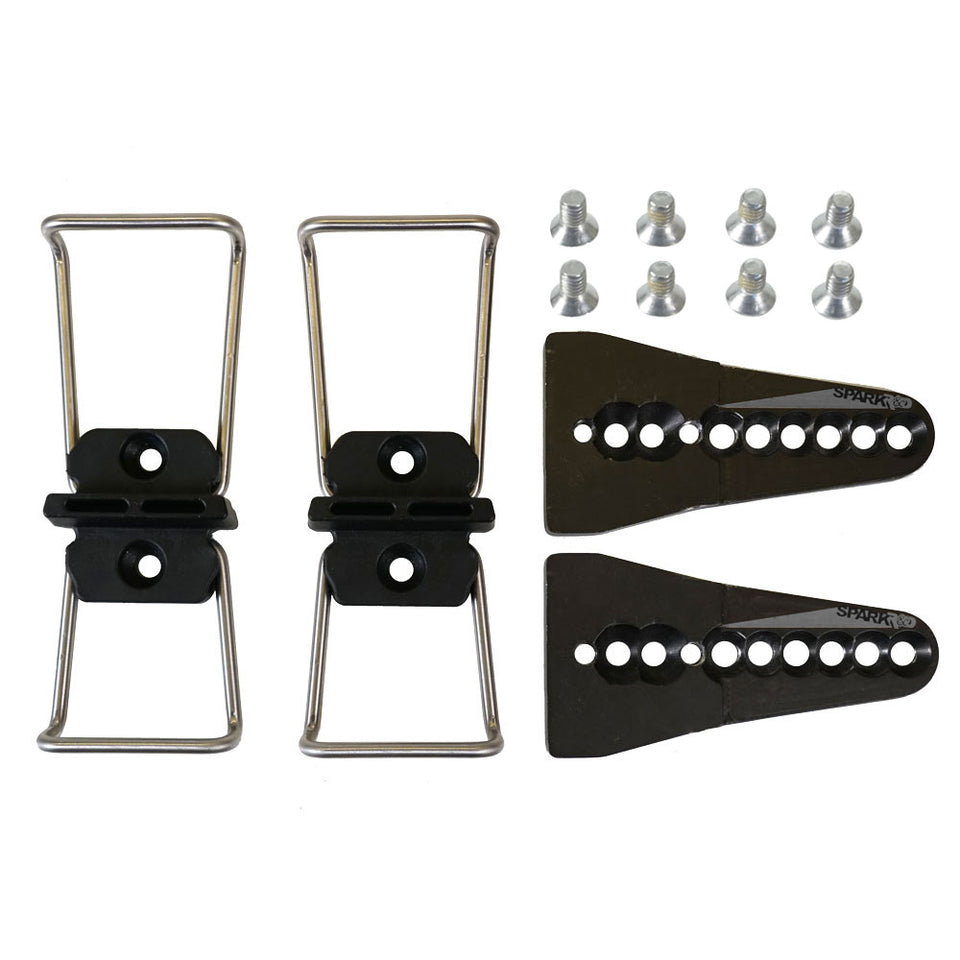 Hard Boot Dual Height Adapters