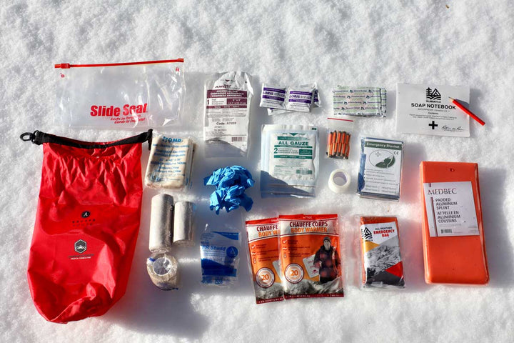 Winter Backcountry First Aid Kit