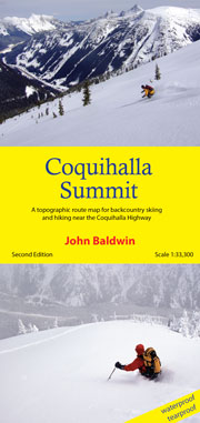 Coquihalla Summit Map - second edition