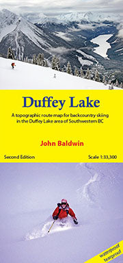 Duffey Lake Touring Map