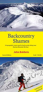 Backcountry Shames Map - second edition