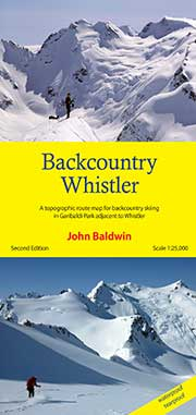 Backcountry Whistler Map