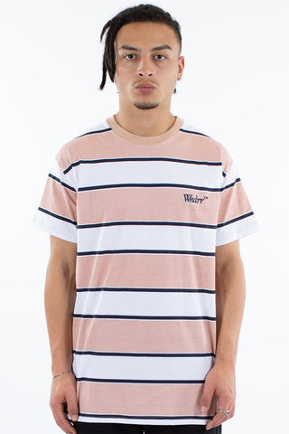 WNDRR PARADISE STRIPE CUSTOM FIT TEE