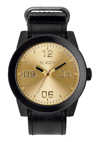 Nixon CORPORAL Leather Watch