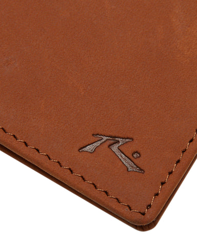 Rusty Ground Leather Wallet