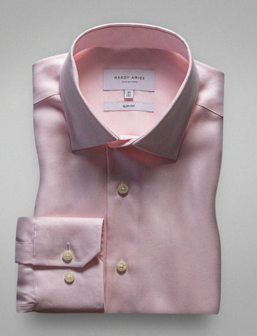 Hardy Amies HA366SF Pink Business Shirt