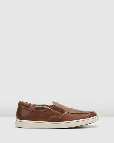 Hush Puppies Tyrone Loafer - Tan