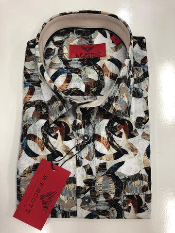 R.F.Scott Fields SS23760 S/S Shirt