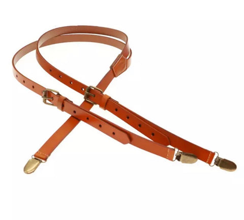 E-Male Leather Braces