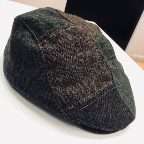 Scala 530.PAT WOOL BLEND Patchwork Ivy Cap