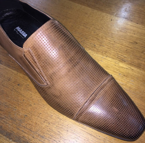 Massa Penso Leather Slip On Shoe