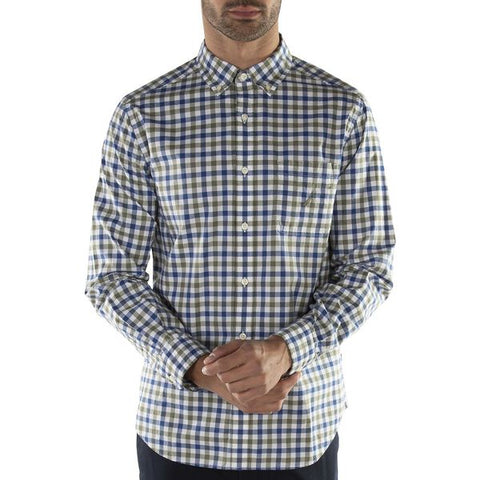 Nautica NAW93100 CASUAL PLAID LS SHIRT