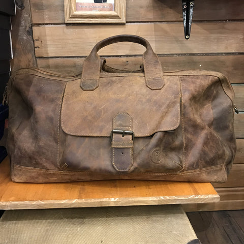 Indepal Phileas Leather Duffle 22""