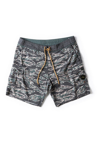 Rusty Tiger Camo All Day Boardshort