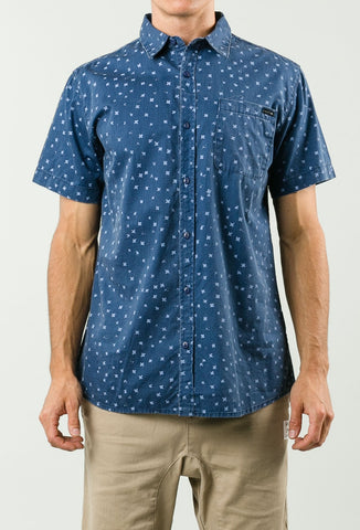 Rusty Cross Short Sleeve Shirt