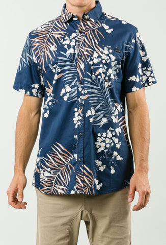Rusty Peking Short Sleeve Shirt