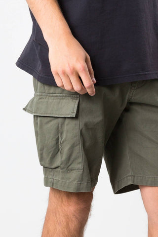 RUSTY EATYA 3 SHORT - BLACK