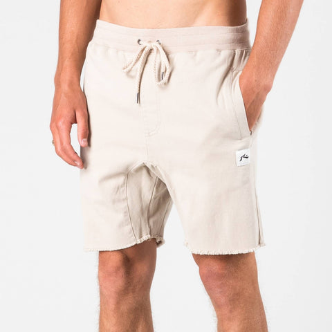 Rusty AXIS ELASTIC SHORT - FEATHER GREY
