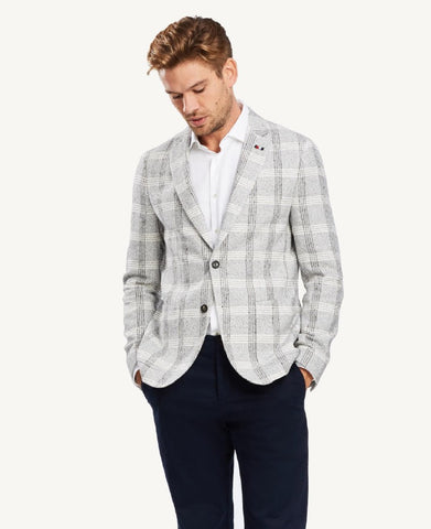 Tommy Hilfiger Soft Check Slim Fit Blazer