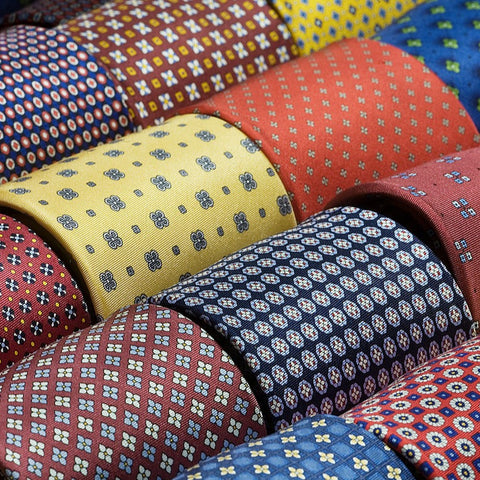 Hardy Amies Silk Ties
