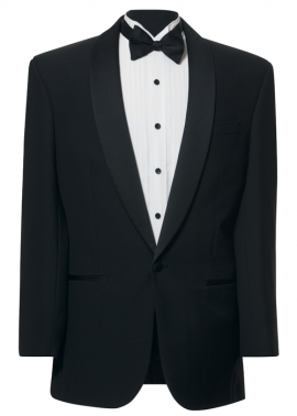 FERRARI / SPURLING CLASSIC BLACK DINNER SUIT – HIRE