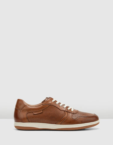 Hush Puppies Danny Lace Up Leather Sneaker